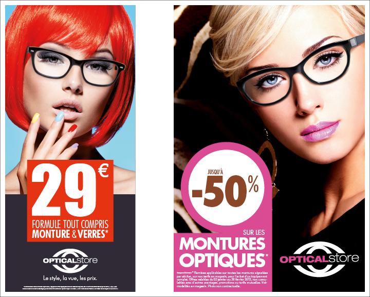 Affichage Optical Store