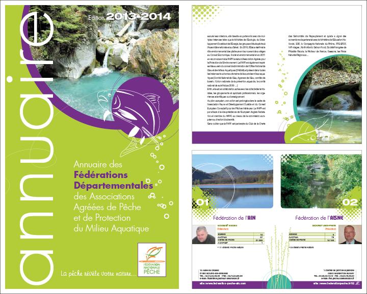 annuaire des fédérations de pêche 2014