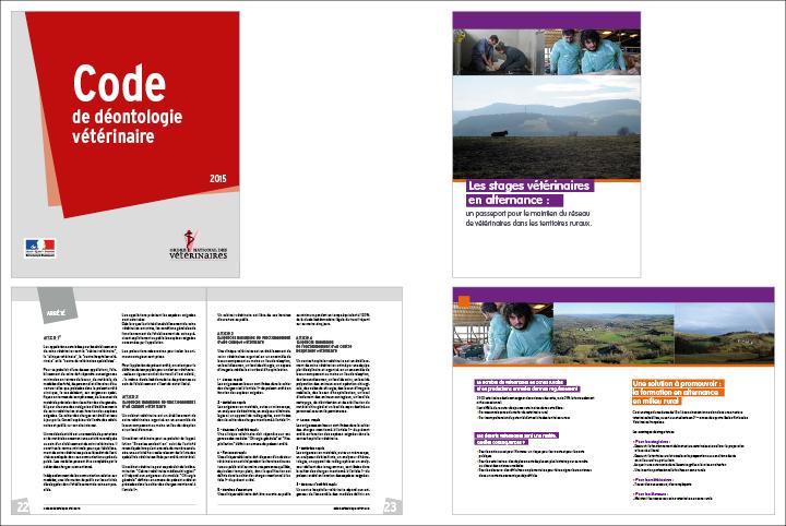 Brochure stages tutorés et code de déontologie vétérinaire