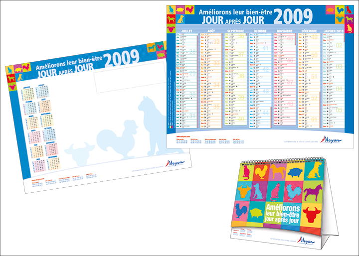 Calendriers ALCYON