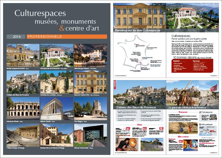 Extrait catalogue Culturespaces