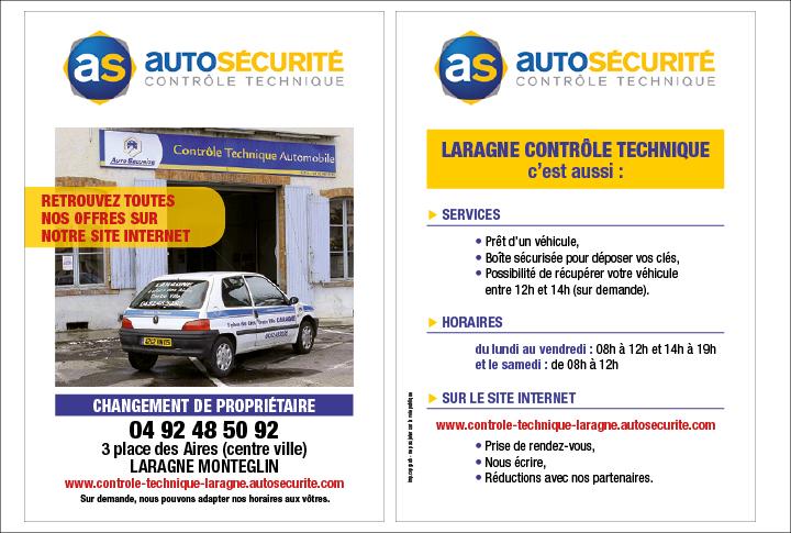 Flyer pour changement de propriétaire centre auto