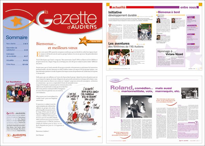 Gazette AUdiens
