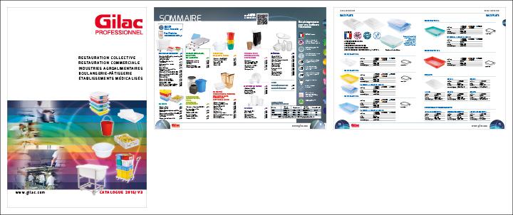 catalogue produits Gilac